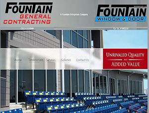 Fountain General Contracting screen capture