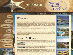Net Realty Services screen capture