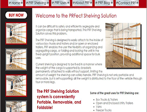 P-R-Fect Shelving Solutions screen capture